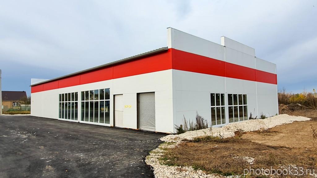 95 Новый строящийся торговый центр в селе Бутылицы