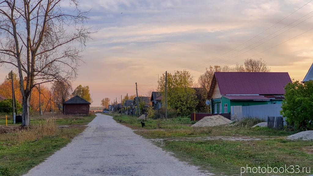 99 Улица в д. Левино, Владимирская область