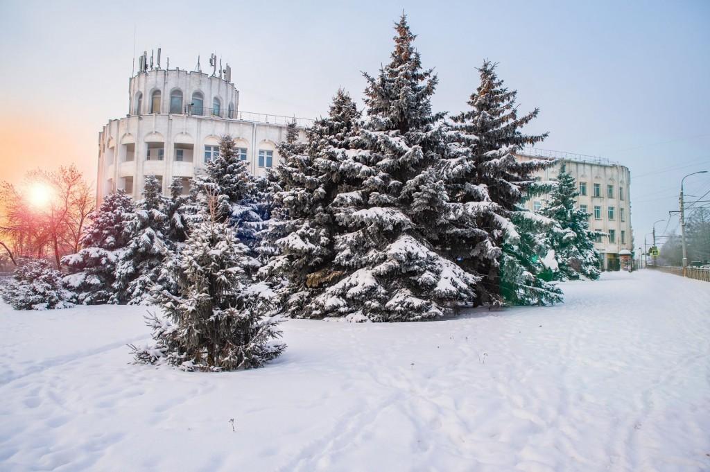 Январское утро... Место действия Владимир, 2021 01