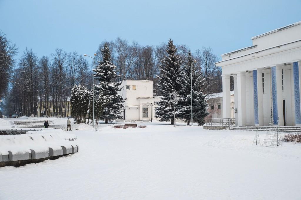 Январское утро... Место действия Владимир, 2021 04