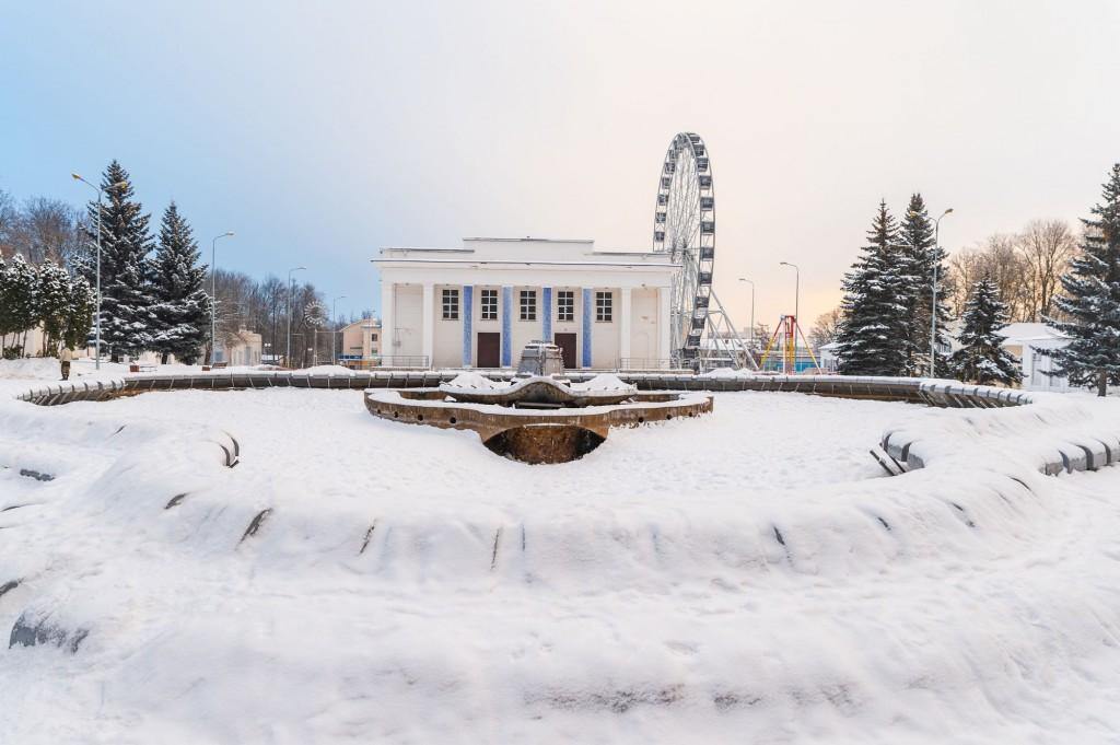 Январское утро... Место действия Владимир, 2021 07