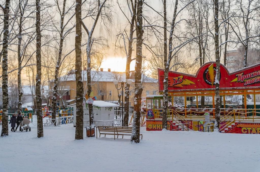 Январское утро... Место действия Владимир, 2021 08